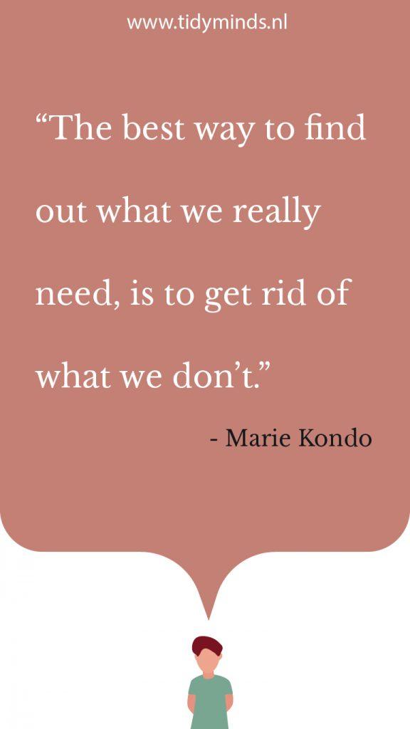 Boekreview Marie Kondo Opgeruimd Spark Joy Tidy Minds