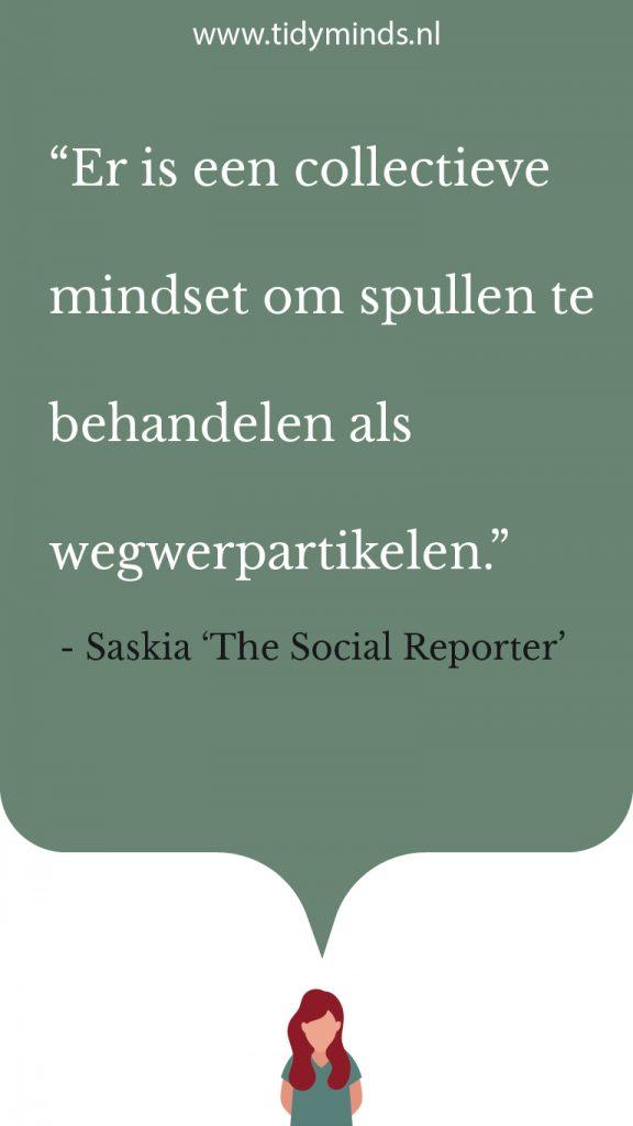 Interview Saskia Mulder The Social Reporter duurzame influencer duurzaamheid minimalisme (1)