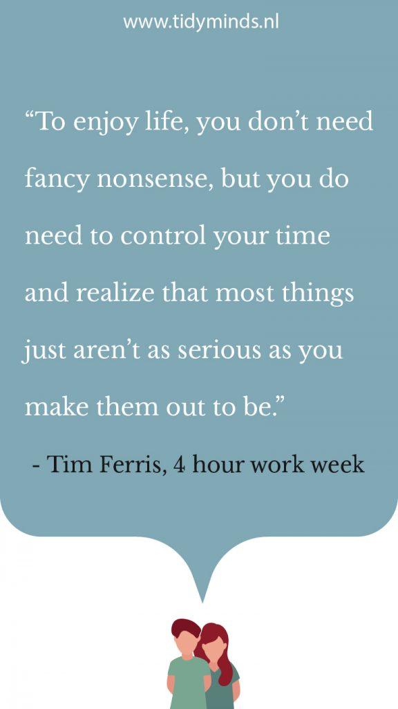 Boekreview Werkweek van 4 uur van Timothy Ferris