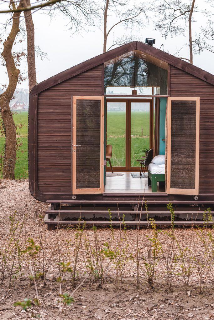 Vakantiehuisjes tiny houses wikkelhouse in Gorssel op de Veluwe