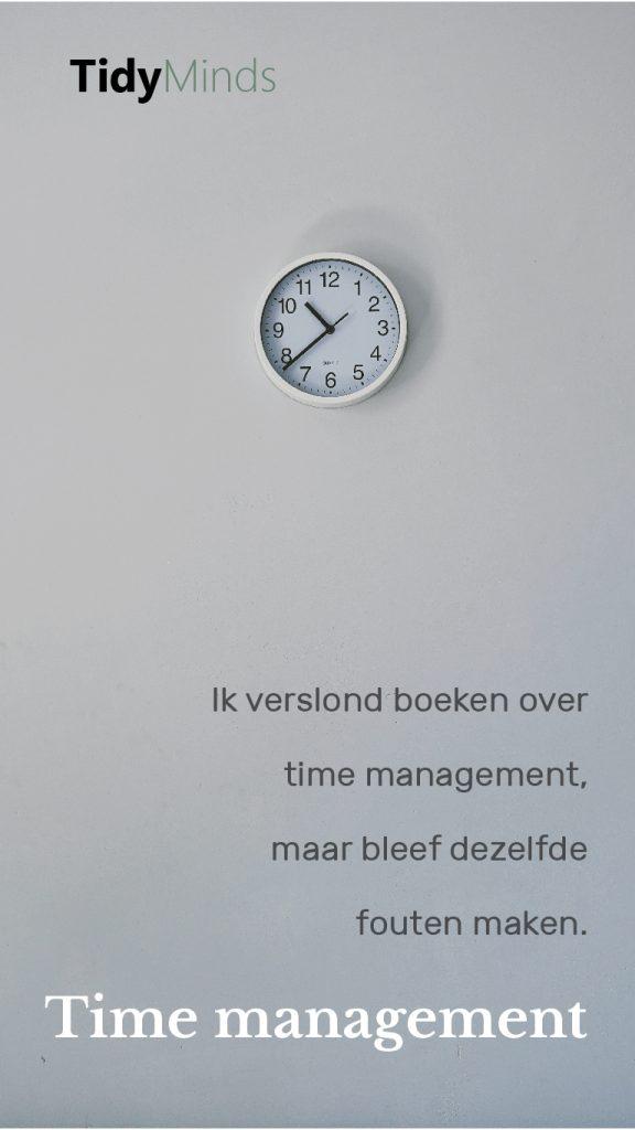Time management tijdschaarste prioriteiten en Laura VanderKamm (2)