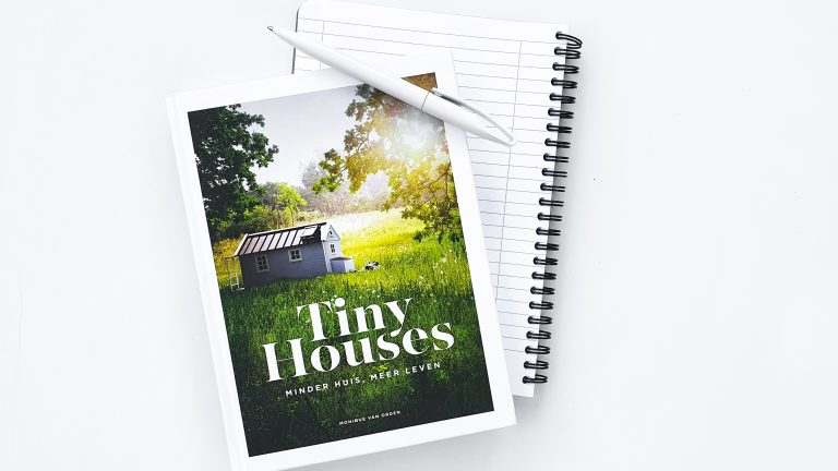 Tiny Houses boek van Monique van Orden