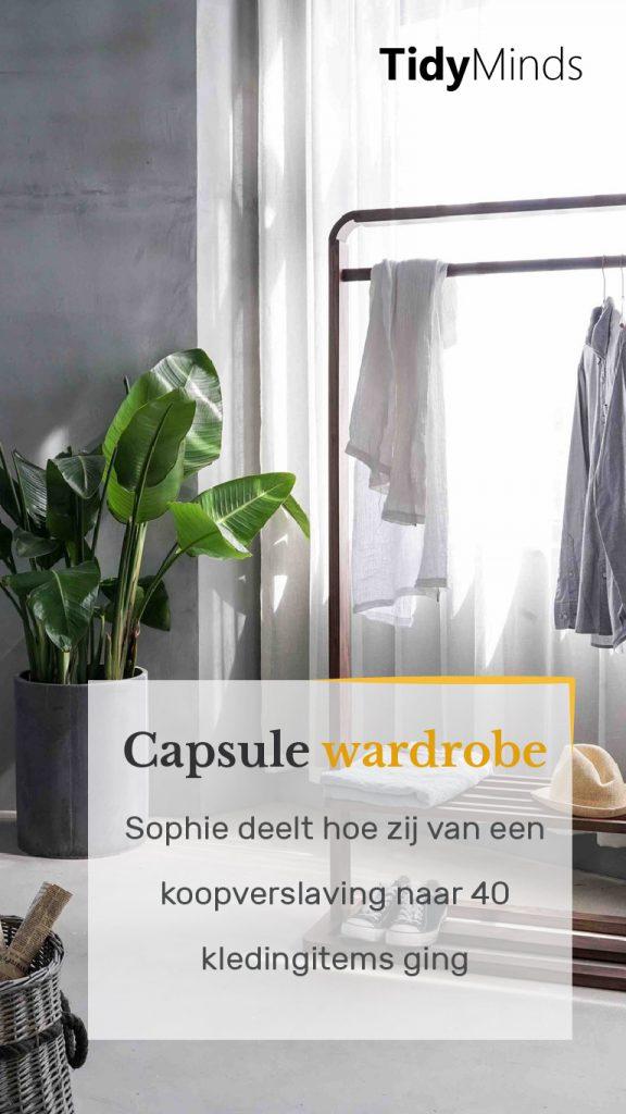 Van koopverslaving naar capsule wardrobe interview Sophie Naoki blog