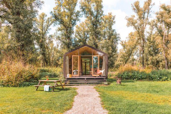Wikkelhouse: een duurzaam prefab tiny house