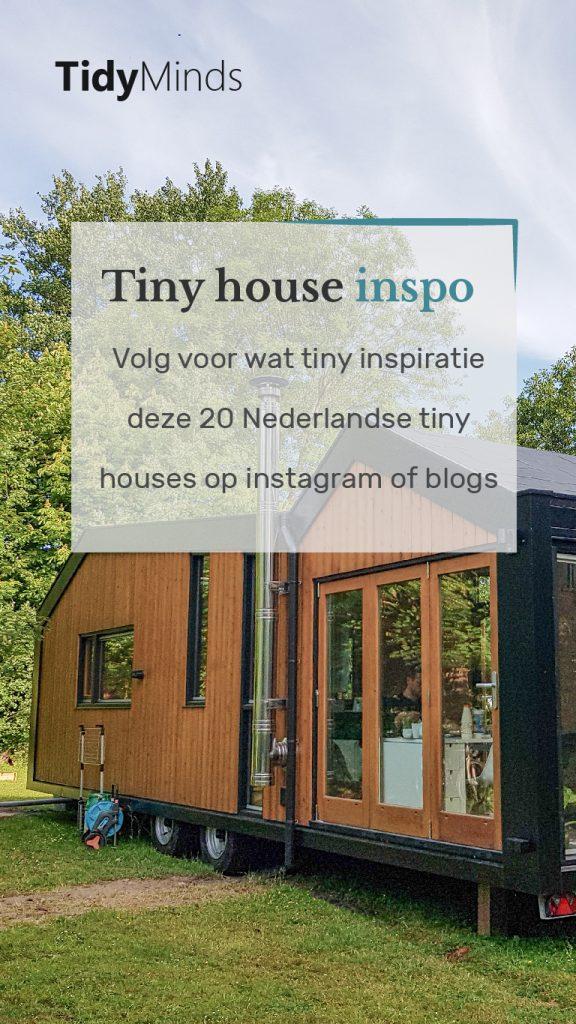 20 Nederlandse tiny houses op social media | Tidy Minds