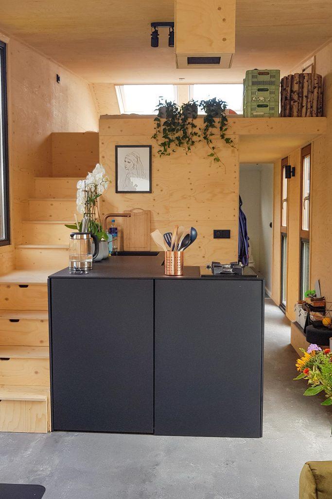 Tiny house van Miriam   keuken
