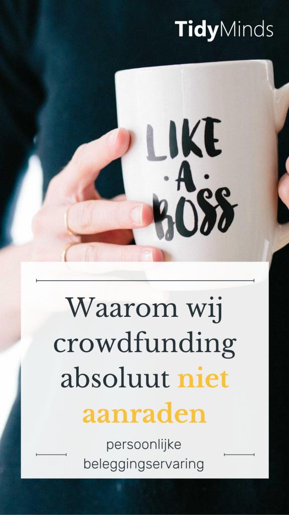 Investeren via crowdfunding geen succes en grootste verliezen