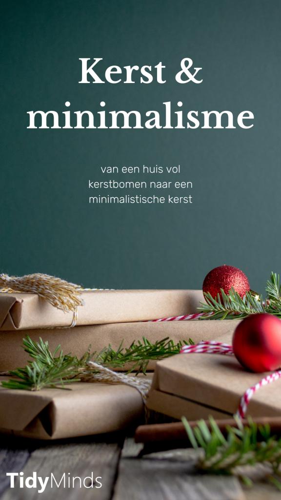 Minimalistische kerst met Tidy Minds