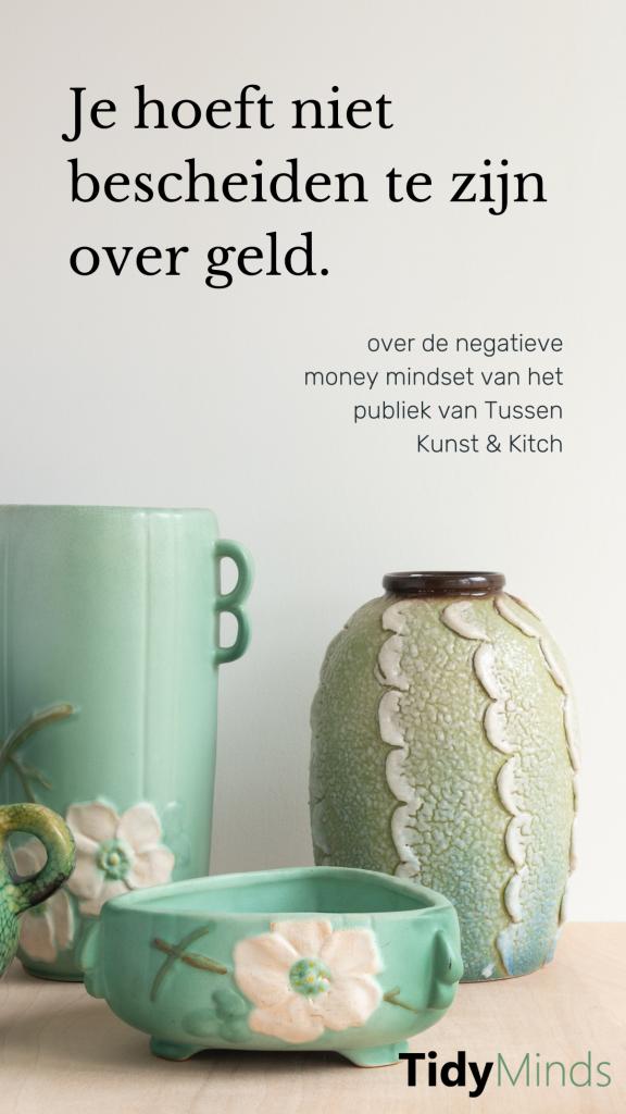 Money Mindset Tussen Kunst En Kitch