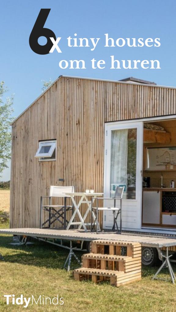 Tiny House Huren | vakantiehuisje | natuurhuisje