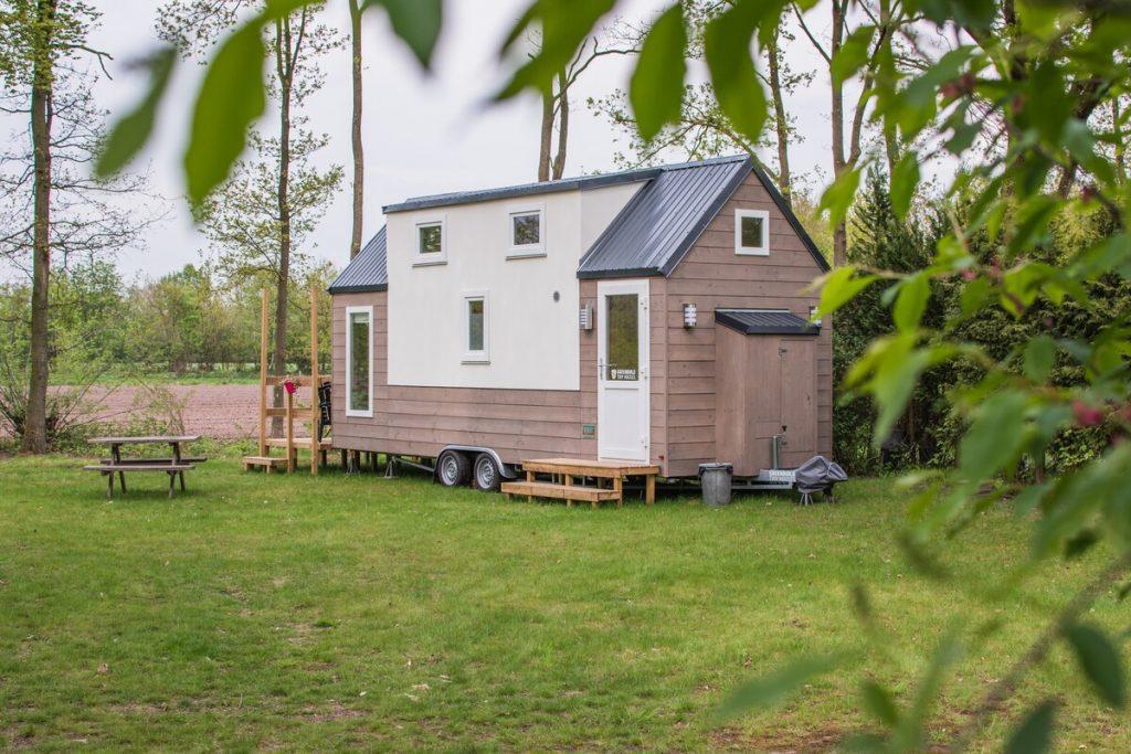 Tiny house huren in Twente