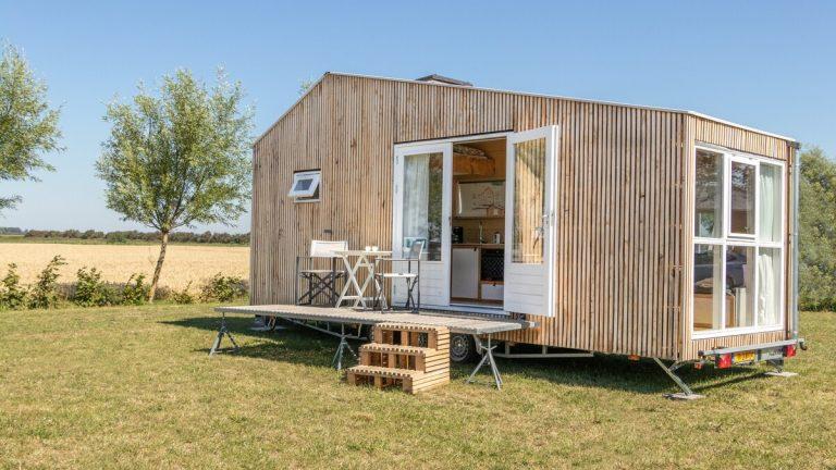 tiny house huren in zeeland